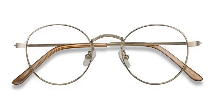 Silver Cupertino -  Vintage Metal Eyeglasses