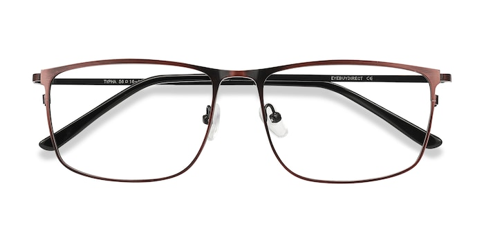 Red Typha -  Metal Eyeglasses