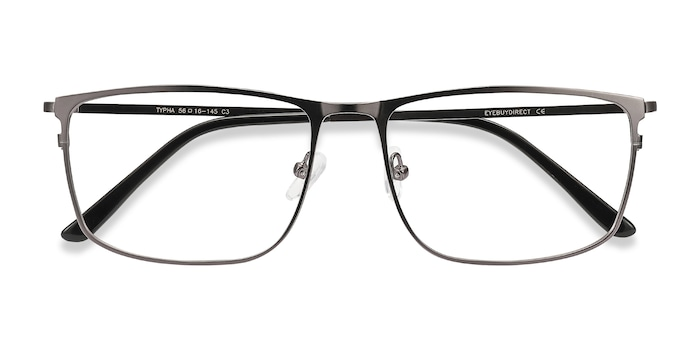 Gunmetal Typha -  Metal Eyeglasses