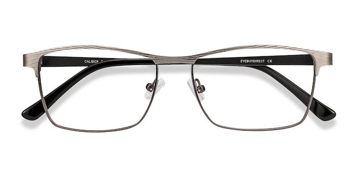 Gunmetal Caliber -  Metal Eyeglasses
