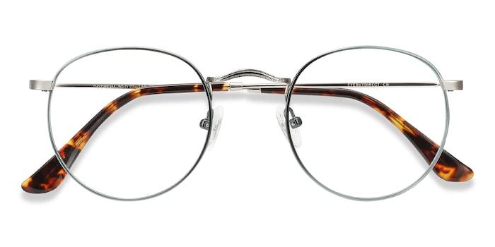 Emerald Green Daydream -  Fashion Metal Eyeglasses