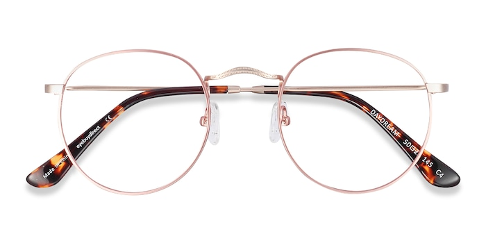 Victorian Pink Daydream -  Colorful Metal Eyeglasses