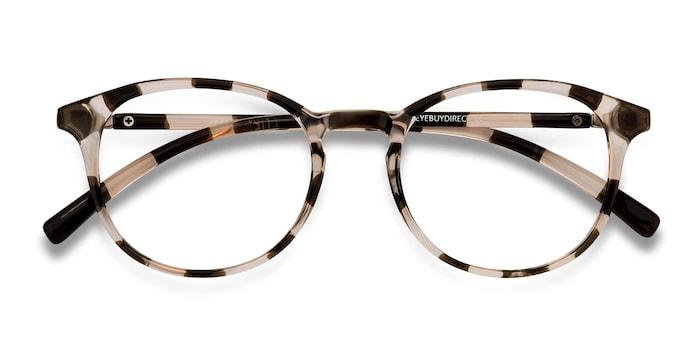 Dark Brown Brace -  Plastic Eyeglasses