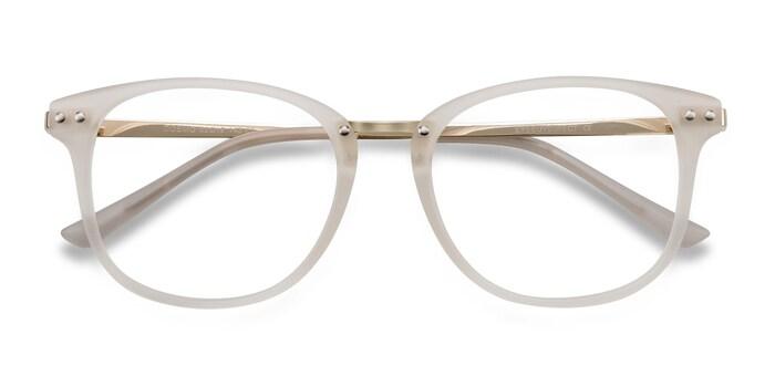Blanc Cosmo -  Métal Lunettes de Vue