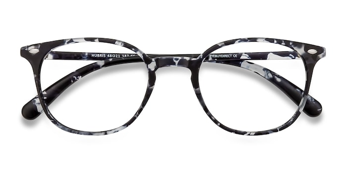 Black Floral Hubris -  Plastic Eyeglasses