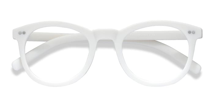 Matte White Solar -  Plastic Eyeglasses
