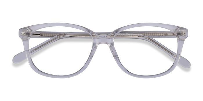 Clear Escape -  Acetate Eyeglasses