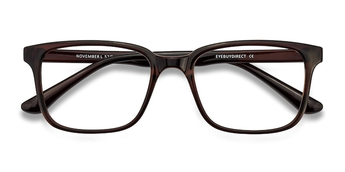Brown November -  Plastic Eyeglasses