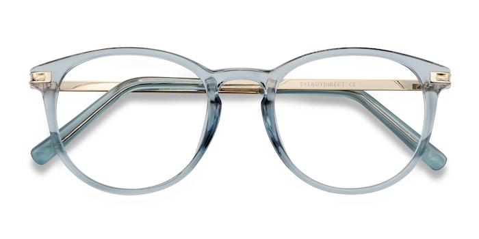 Clear Blue Daphne -  Plastic Eyeglasses