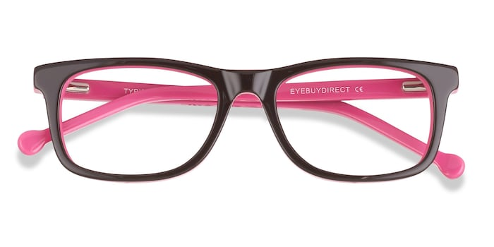 Purple Typist -  Acetate Eyeglasses