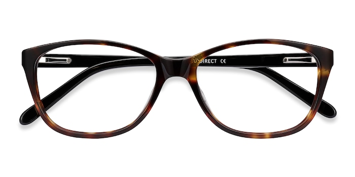 Tortoise Masque -  Acetate Eyeglasses