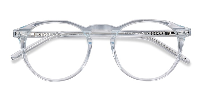 Clear Blue Planete -  Designer Acetate Eyeglasses