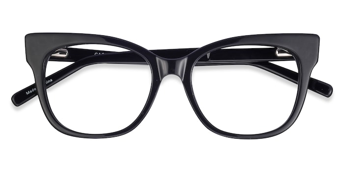 Black Cachet -  Acetate Eyeglasses