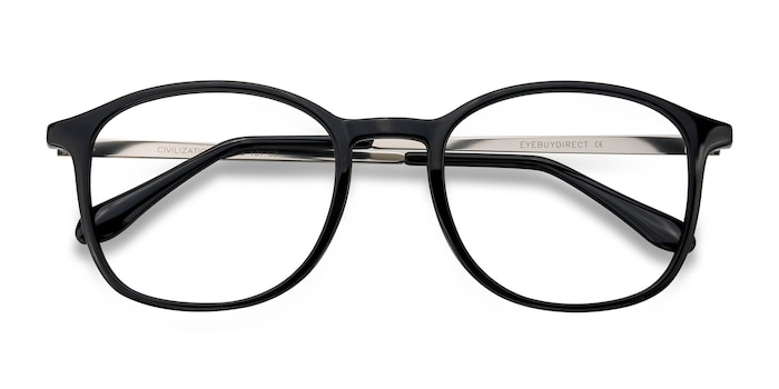 Black Civilization -  Metal Eyeglasses