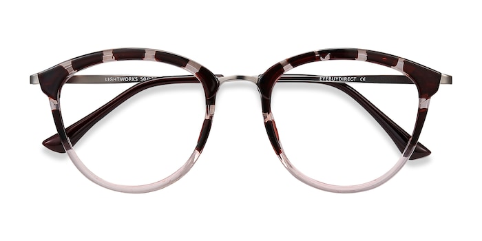 Pink Floral Lightworks -  Metal Eyeglasses