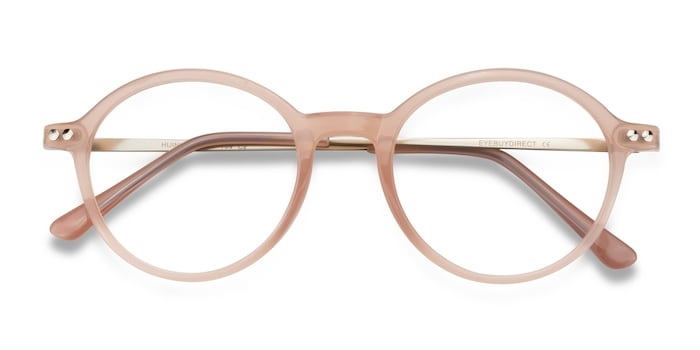 Pink Hijinks -  Metal Eyeglasses