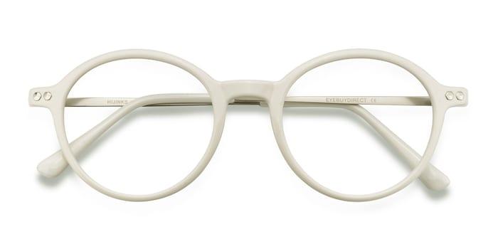 White Hijinks -  Metal Eyeglasses