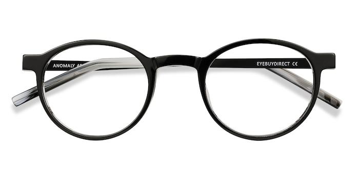 Black Anomaly -  Acetate Eyeglasses