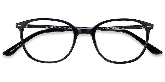 Black Eros -  Acetate Eyeglasses