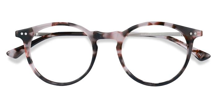 Pink Tortoise Luminous -  Designer Acetate Eyeglasses