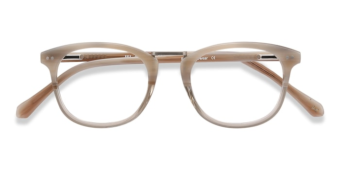 Gray Clear Era -  Acetate Eyeglasses