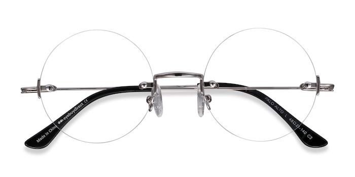 Silver Palo Alto -  Vintage Metal Eyeglasses