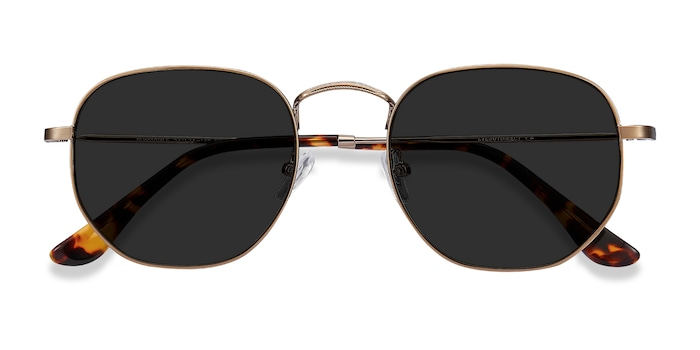 Copper Boardwalk -  Metal Sunglasses