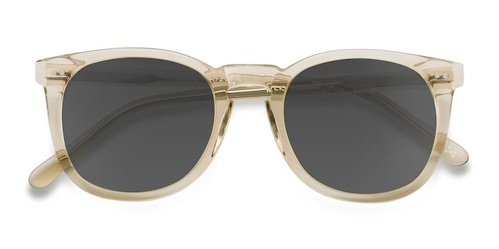 Champagne Ethereal -  Vintage Acetate Sunglasses