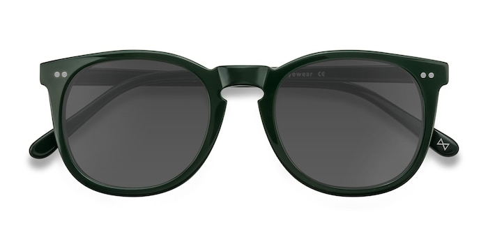 Dark Pine Ethereal -  Vintage Acetate Sunglasses