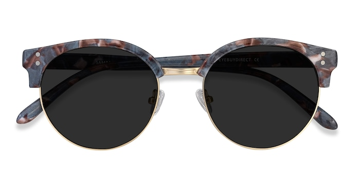 Floral Gold Samba -  Metal Sunglasses