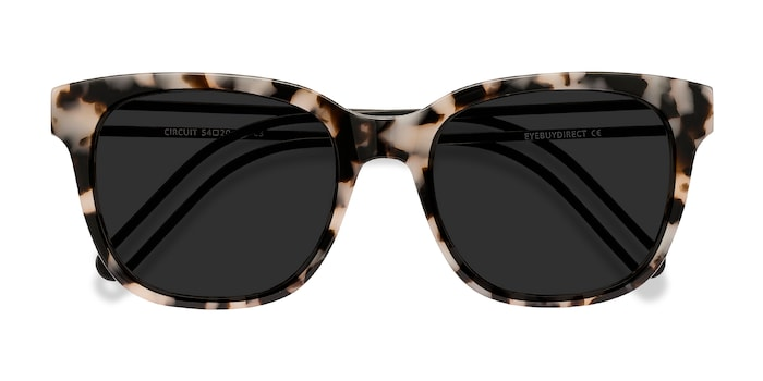Gray Tortoise Circuit -  Acetate Sunglasses