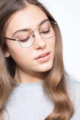 Bronze St Michel -  Vintage Metal Eyeglasses