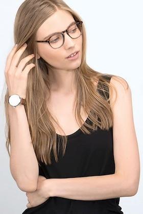 Cafe Glace Prism -  Vintage Acetate Eyeglasses