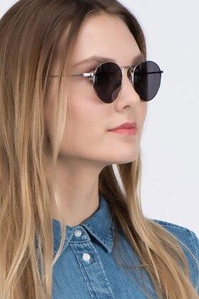 Silver Disclosure -  Vintage Metal Sunglasses