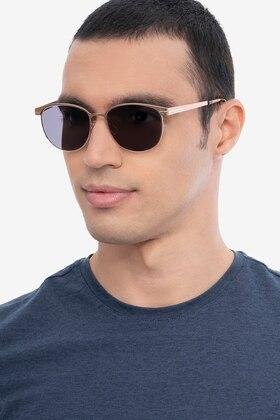 Rose Gold Maui -  Metal Sunglasses
