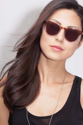 Neapolitan Shadow -  Vintage Acetate Sunglasses