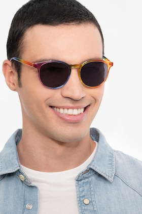 Rainbow Power -  Plastic Sunglasses