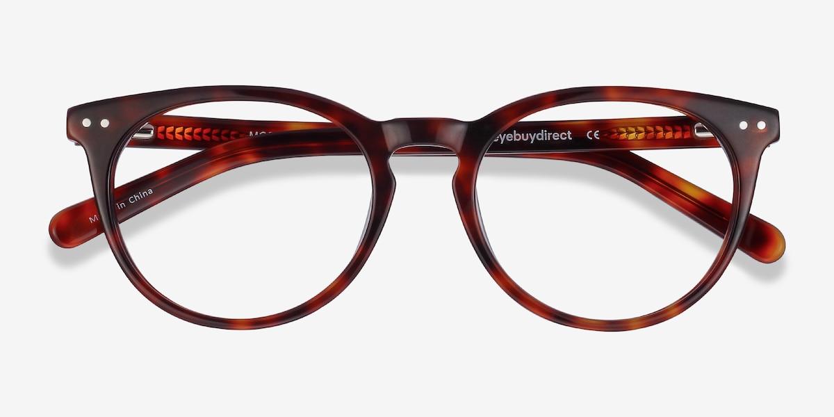 ac683920e9 Morning Tortoise Acetate Eyeglass Frames from EyeBuyDirect