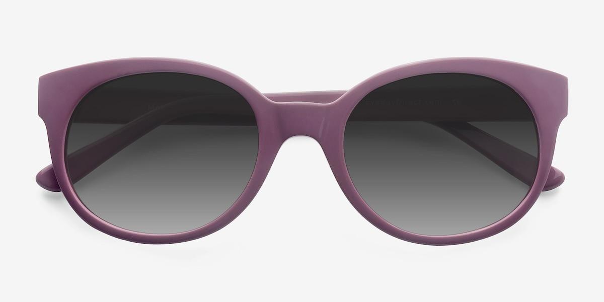 4a29e80a7c61b Matilda Purple Acetate Sunglass Frames from EyeBuyDirect