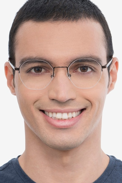 Cowen Bronze Metal Eyeglass Frames for Men from EyeBuyDirect
