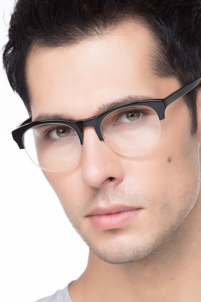 Zoot Black Acetate Eyeglass Frames for Men from EyeBuyDirect