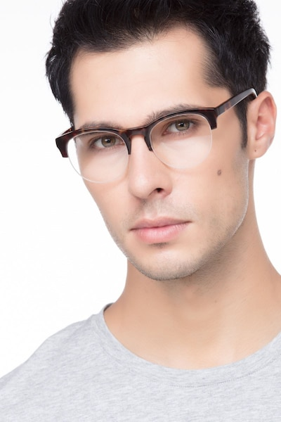 Zoot Tortoise Acetate Eyeglass Frames for Men from EyeBuyDirect
