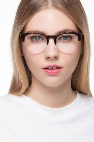 Zoot Tortoise Acetate Eyeglass Frames for Women from EyeBuyDirect