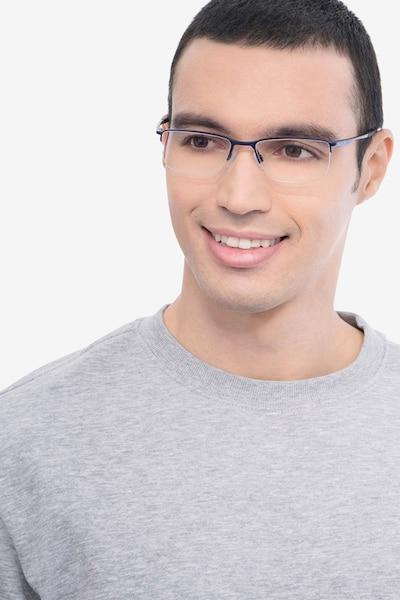 Oakley Socket 5.5 Matte Midnight Metal Eyeglass Frames for Men from EyeBuyDirect