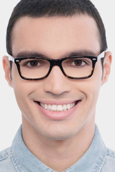 Ray-Ban RB5228 Tortoise Acetate Eyeglass Frames for Men from EyeBuyDirect
