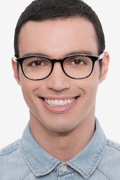 Ray-Ban RB5356 Black Acetate Eyeglass Frames for Men from EyeBuyDirect