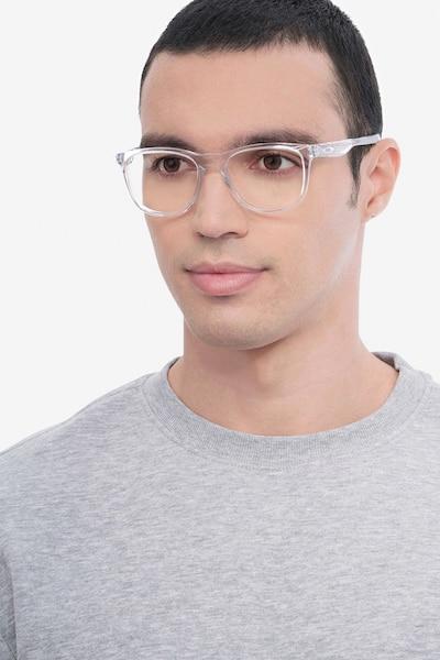 Oakley Trillbe X Clear Plastic Eyeglass Frames for Men from EyeBuyDirect