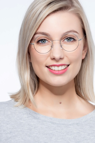 Someday Golden Metal Eyeglass Frames for Women from EyeBuyDirect