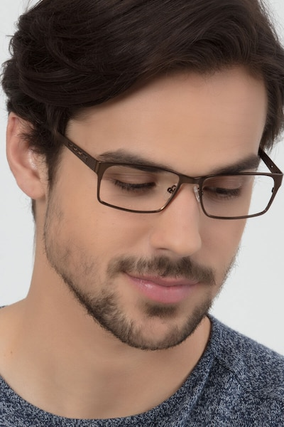 Celine Bronze Metal Eyeglass Frames for Men from EyeBuyDirect