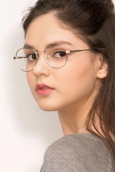 Belleville Golden Métal Montures de Lunettes pour Femmes d'EyeBuyDirect